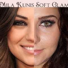 Mila Kunis Soft Glam