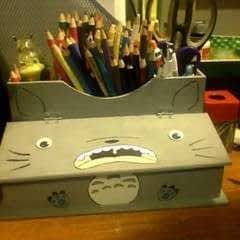 Painted Totoro Box