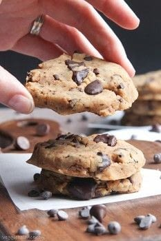 .  Free tutorial with pictures on how to bake a chocolate chip cookie in under 26 minutes by cooking and baking with gluten free flour, baking powder, and salt. Inspired by gluten free. Recipe posted by Lindsay G.  in the Recipes section Difficulty: Easy. Cost: Cheap. Steps: 1