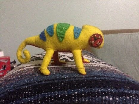 .  Make a reptile plushie in under 180 minutes Version posted by Jillian H. Difficulty: Easy. Cost: Cheap.