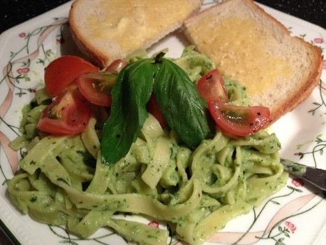 .  Cook a pesto pasta in under 60 minutes Version posted by Markee R. Difficulty: Simple. Cost: Cheap.
