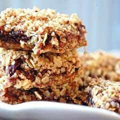 Cherry Oat Bars (Gluten Free)