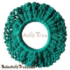 Easy Crochet Scrunchy