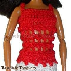 Fashion Doll Top