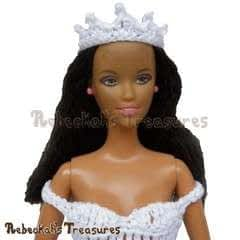 Picot Fashion Doll Tiara