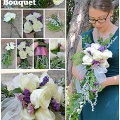 DIY Cascade Bouquet