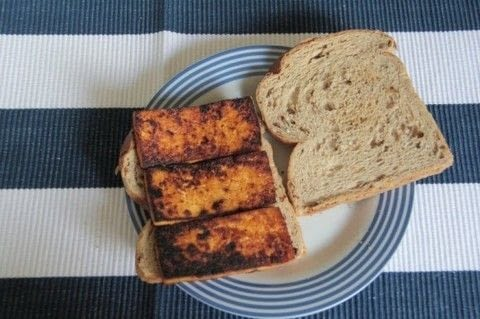 .  Free tutorial with pictures on how to cook a bacon dish in under 15 minutes by cooking with maple syrup, tofu, and smoked paprika. Inspired by vegetarian and vegan. Recipe posted by TheTofuDiaries.  in the Recipes section Difficulty: Simple. Cost: 3/5. Steps: 3