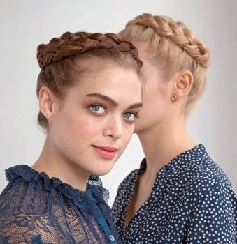 Circle your head with a Victorian crown dutch braid .  Free tutorial with pictures on how to style a crown braid in under 15 minutes by hairstyling with dry shampoo, tail comb, and elastic band. How To posted by Weldon Owen.  in the Beauty section Difficulty: Simple. Cost: Cheap. Steps: 9