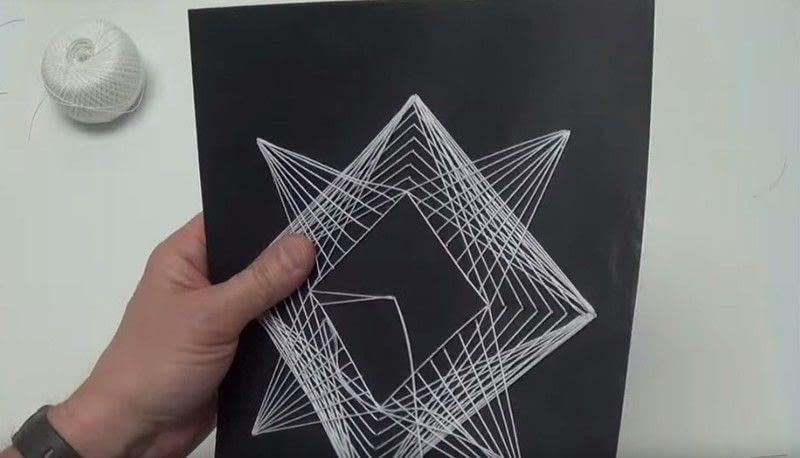 geometric string art 183 how to make string art 183 art on cut