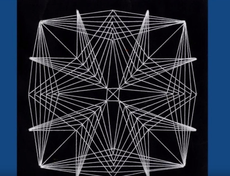 geometric string art how to make string art art on cut out keep how to by dodi g. Black Bedroom Furniture Sets. Home Design Ideas