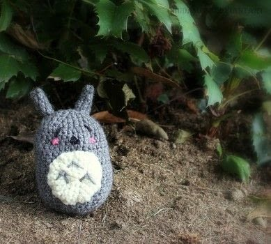 Sleepy Neighbor .  Sew a movie plushie in under 120 minutes by embroidering, yarncrafting, and amigurumi with red heart yarn, crochet hook, and embroidery thread. Inspired by my neighbor totoro. Creation posted by Chudames.  in the Yarncraft section Difficulty: Easy. Cost: Absolutley free.