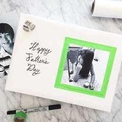 Washi Tape Framed Photos