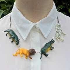 Safari Animal Necklace