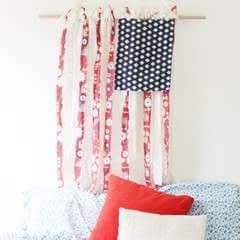 Fabric American Flag