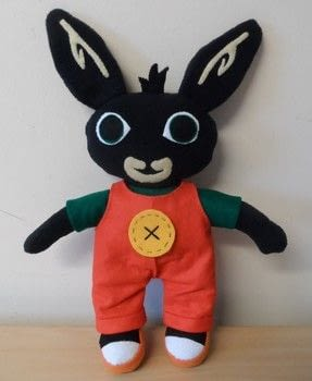 Calling all Bingsters! .  Sew a TV show plushie by hand sewing and machine sewing with fleece, felt, and felt. Inspired by tv shows and rabbits. Creation posted by Caz.  in the Sewing section Difficulty: 3/5. Cost: 3/5.