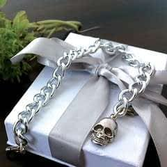 Alexander Mc Queen Inspired Skull Bracelet