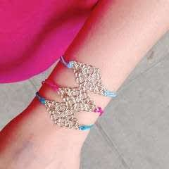Filigree Hair Tie Meets Bracelet