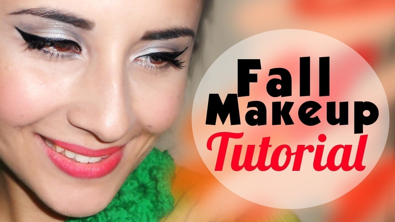Fall Makeup Tutorial Cat Eyes Bold Lips How To Create A Cat Eye