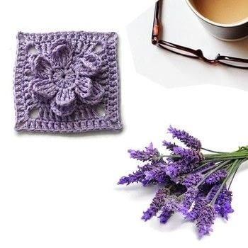 New project .  Make a crochet in under 30 minutes by crocheting with crochet hook and cotton yarn. Inspired by floral. Creation posted by Nela T.  in the Yarncraft section Difficulty: 3/5. Cost: Cheap.