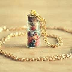 Bead Bottle Necklace