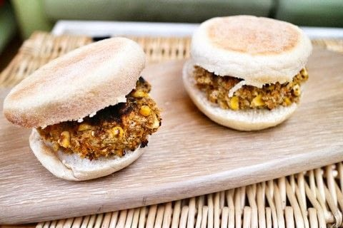 Fast & simple, these healthy hearty burgers are sure to fill you up! .  Free tutorial with pictures on how to cook a veggie burger in under 15 minutes by cooking with quinoa, feta cheese, and sweetcorn. Inspired by vegetarian. Recipe posted by Cat Morley.  in the Recipes section Difficulty: Simple. Cost: Cheap. Steps: 10