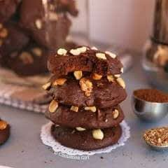 Nutty Mocha Cookies