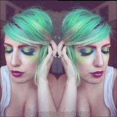 Crazy Avant Garde Make Up