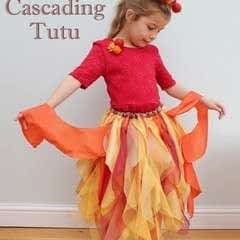 Autumnal Cascading Tutu