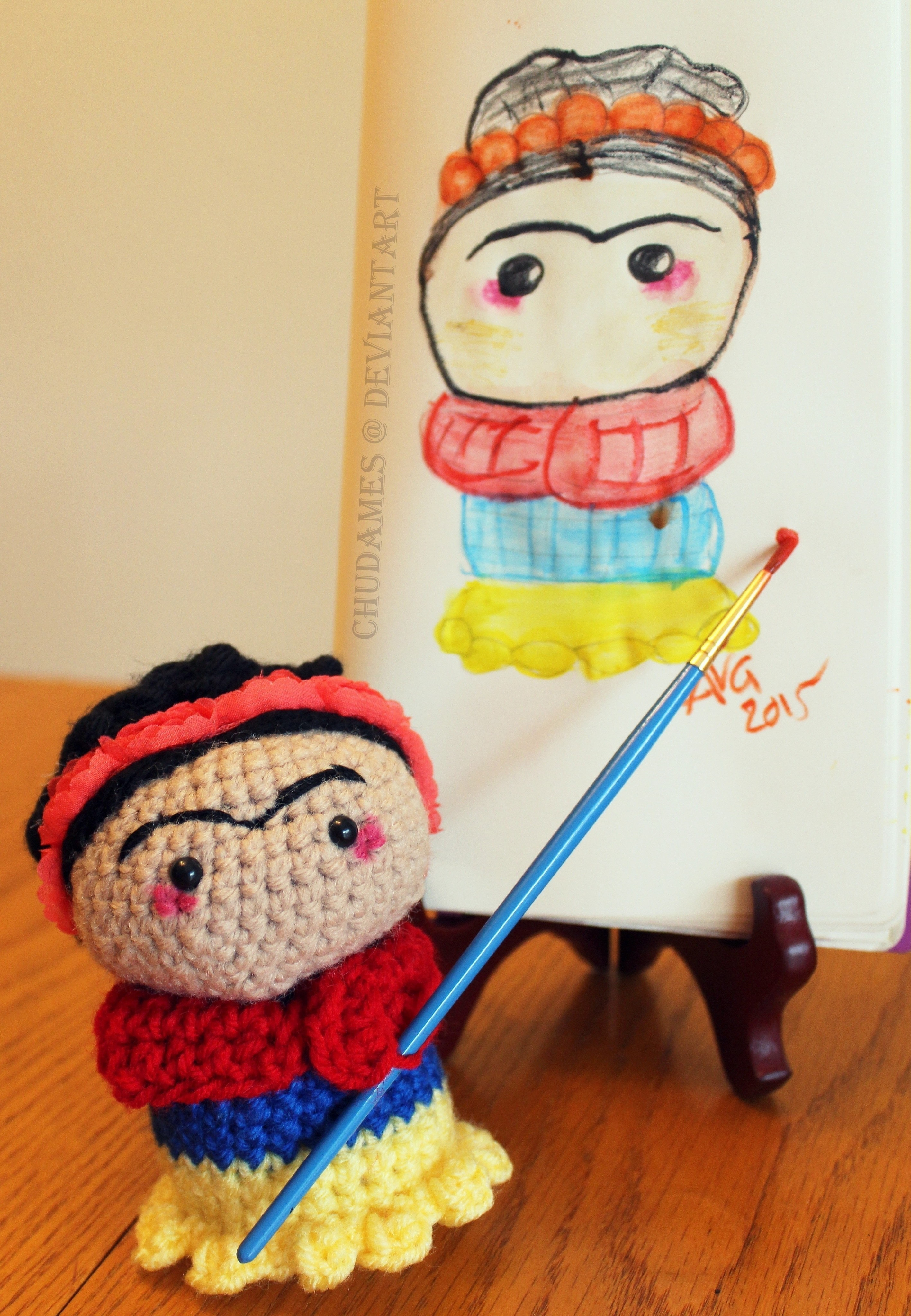Costurero Frida kahlo @amigurumis.anayanci | Muñeca amigurumi ... | 4096x2834