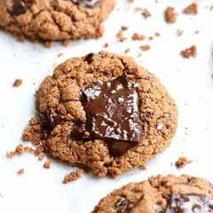 Wholesome Flourless Almond Butter Cookies