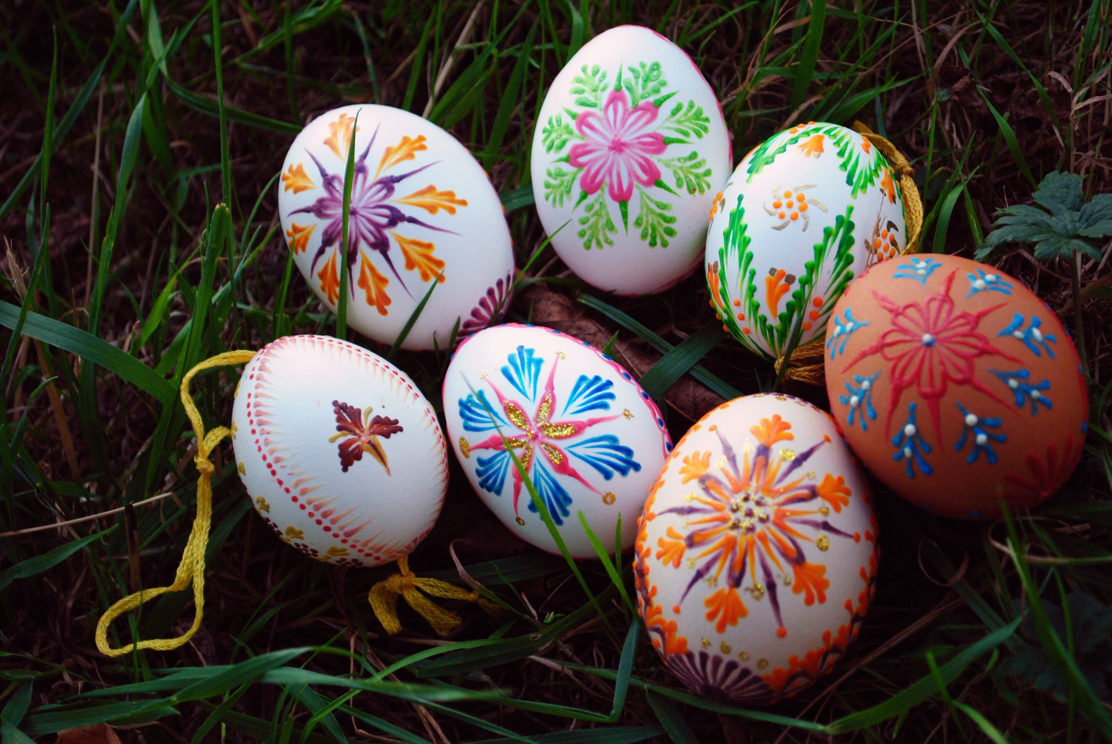 Slovak Easter Tradition Egg Painting Free Tutorial With Pictures On How To Make A