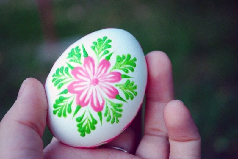 Slovak Hand Painted Easter Eggs 183 How To Make A Decorative Egg 183 Art On Cut Out Keep