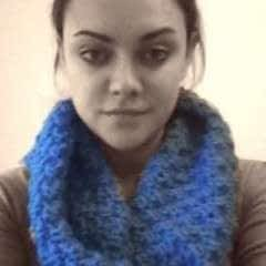 Easy Double Moss Stitch Cowl