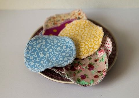 Sew this washable make-up remover pads to reduce garbage .  Free tutorial with pictures on how to make makeup remover in under 120 minutes by sewing with dish towel, fabric scraps, and cardbord. How To posted by Daniela S.  in the Sewing section Difficulty: Easy. Cost: No cost. Steps: 4