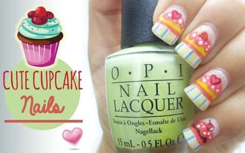 Are you ready for an adorable idea for your next manicure? .  Free tutorial with pictures on how to paint a French tip in under 60 minutes using base coat, nail polish, and acrylic paint. Inspired by cupcakes. How To posted by Jennifer R.  in the Beauty section Difficulty: 3/5. Cost: 3/5. Steps: 1