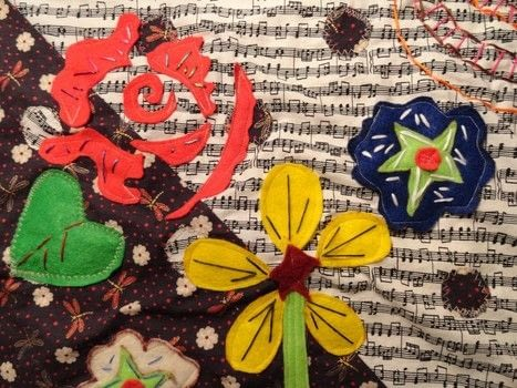 Sow the Seeds of Love .  Make a hanging by embroidering and machine sewing with felt, sewing machine, and embroidery floss. Creation posted by The Sewing Maven.  in the Sewing section Difficulty: 3/5. Cost: 3/5.
