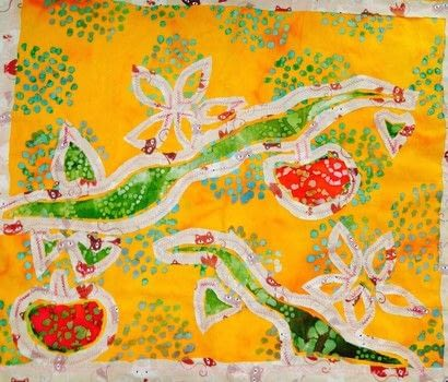 .  Free tutorial with pictures on how to make a patchwork quilt in 6 steps by machine sewing with quilt batting, fabrics, and sewing kit. Inspired by apples. How To posted by The Sewing Maven.  in the Sewing section Difficulty: 3/5. Cost: Cheap.