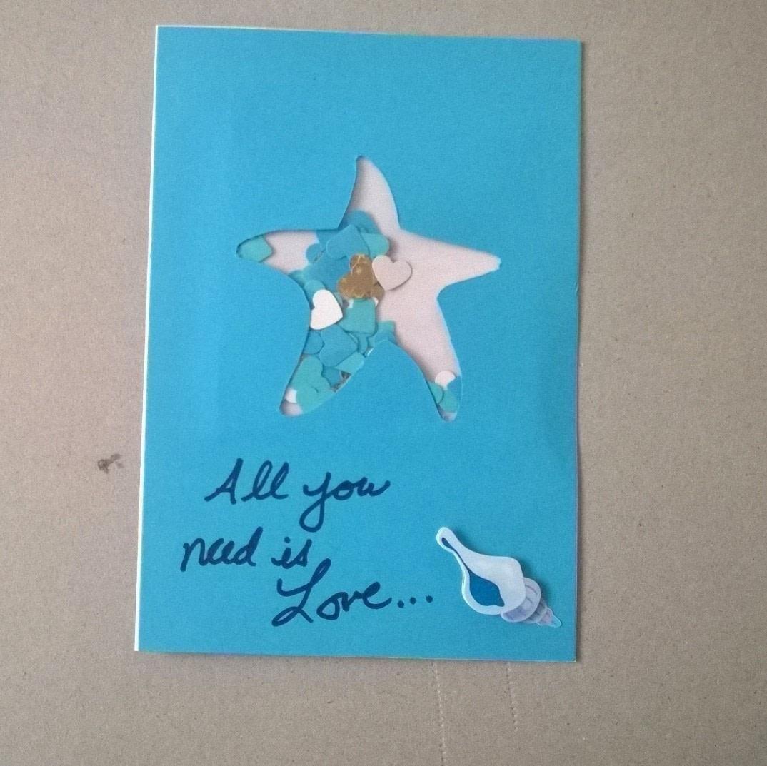 Beachy Shaker Wedding Card How To Make A Greetings Card
