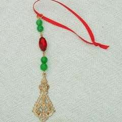 Beaded Holiday Icicles
