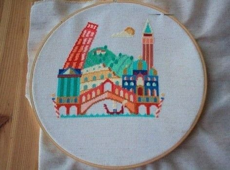 A beautiful cross stitch I picked up from Etsy and finally finished  .  Cross Stitch art by cross stitching with embroidery thread, pattern, and embroidery needle. Creation posted by MagicalGirlMaya.  in the Needlework section Difficulty: Easy. Cost: Cheap.