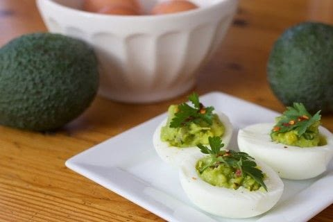 .  Free tutorial with pictures on how to cook a devilled egg in under 15 minutes by cooking with eggs, avocado , and parsley. Recipe posted by comewecreate.  in the Recipes section Difficulty: Easy. Cost: Cheap. Steps: 3