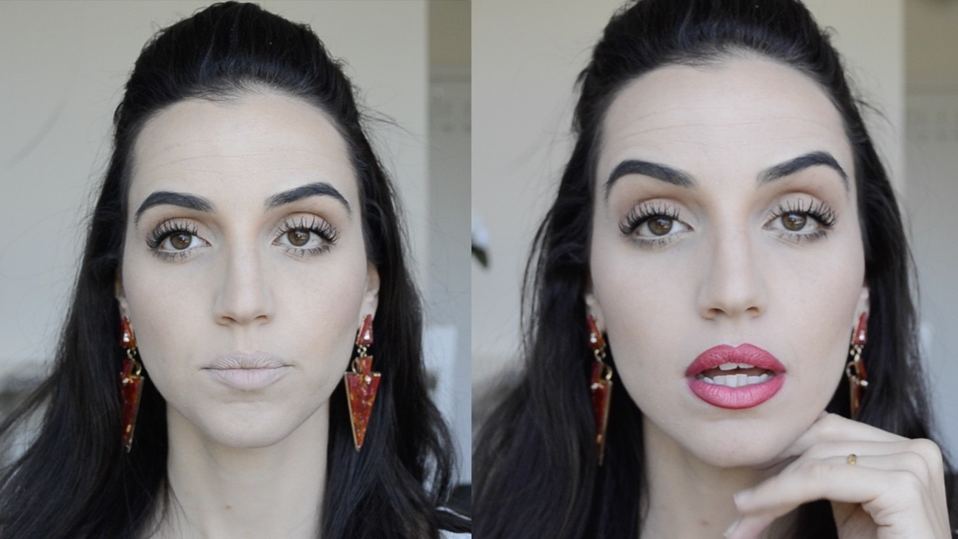how to make your lips red