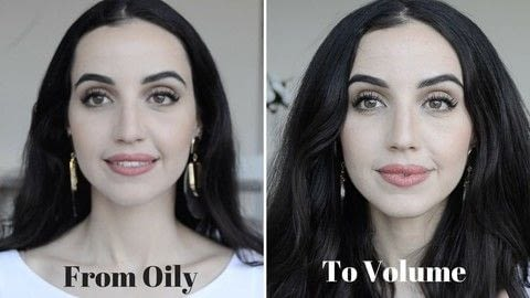 My DIY trick to fix & prevent oily and sticky hair, and have more volume! .  Free tutorial with pictures on how to creatae a hair style in under 5 minutes by hairstyling with hair. How To posted by Shiba Style.  in the Beauty section Difficulty: Easy. Cost: No cost. Steps: 1