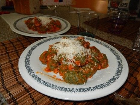 Typical recipe of Trentino Alto Adige (Northern Italy) .  Free tutorial with pictures on how to cook pasta in under 45 minutes by cooking and baking with breadcrumbs, spinach, and egg. Recipe posted by Marzia A.  in the Recipes section Difficulty: Simple. Cost: Cheap. Steps: 5