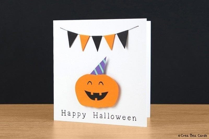 Very Happy Halloween Card · How To Make A Greetings Card ...