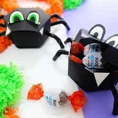 Diy Spider Candy Boxes