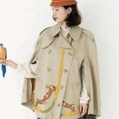 Trench Coat Poncho