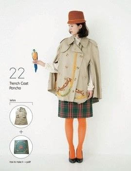Stylish Remakes .  Free tutorial with pictures on how to make a trench / mac in under 180 minutes by sewing and dressmaking with coat, scarf, and fusible interfacing. How To posted by Tuttle Publishing.  in the Sewing section Difficulty: 3/5. Cost: Cheap. Steps: 5