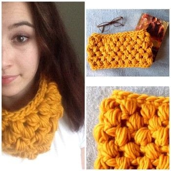 It's time for fall style .  Make a cowl in under 60 minutes using yarn and crochet hook. Creation posted by zandra k.  in the Yarncraft section Difficulty: Simple. Cost: Cheap.