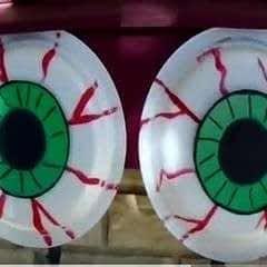 Scary Eyeballs For Halloween Decor